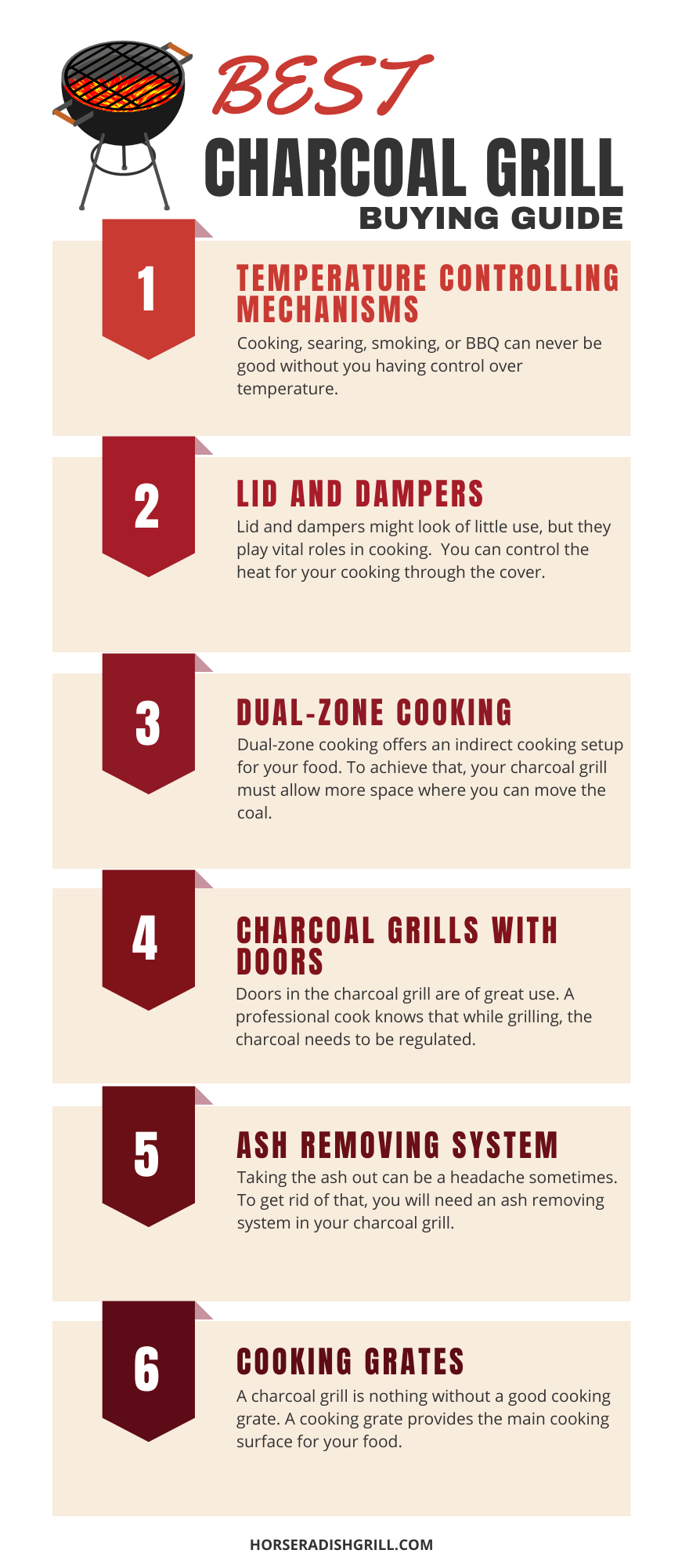 How to find the perfect charcoal grill